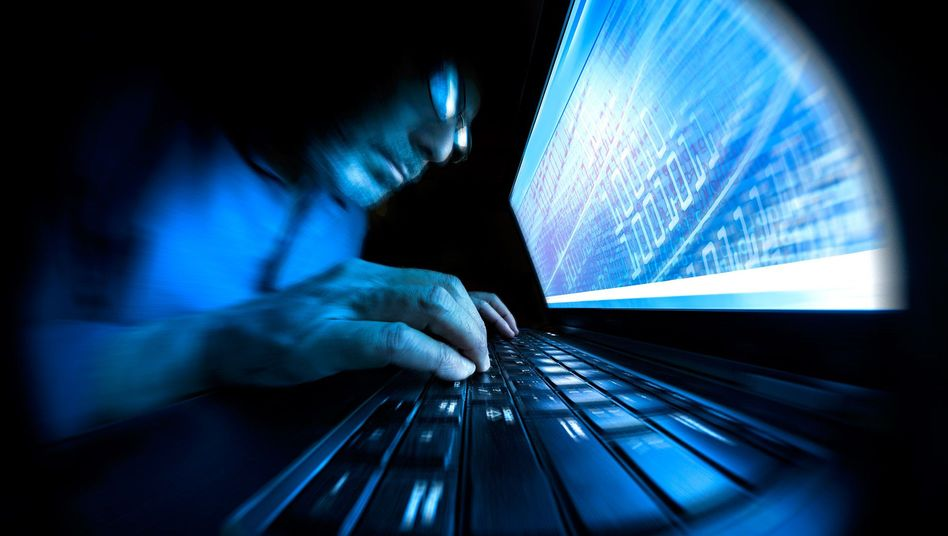 Hackerangriff (Symbolbild)