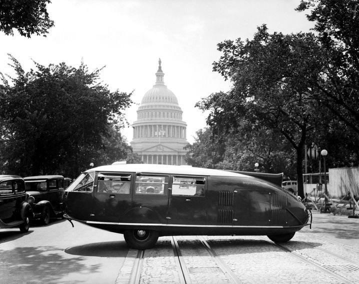 Das Dymaxion-Auto von Buckminster Fuller