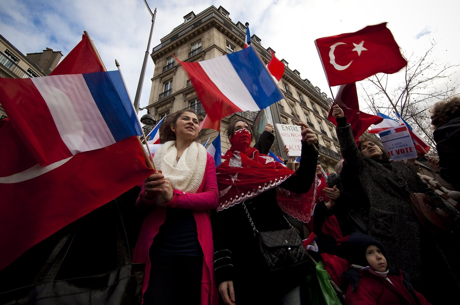 Frankreich/ Armenien/ Proteste