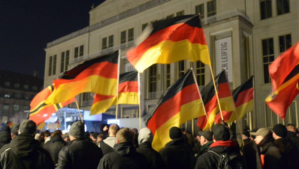 Einsatz wegen Legida: Polizei-Großaufgebot in Leipzig
