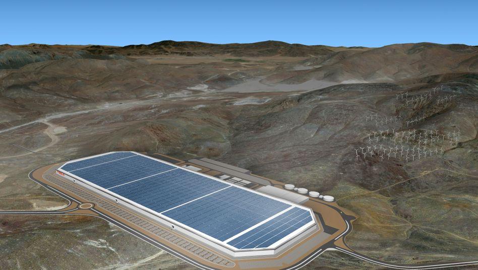 Teslas Gigafactory 1 in Nevada