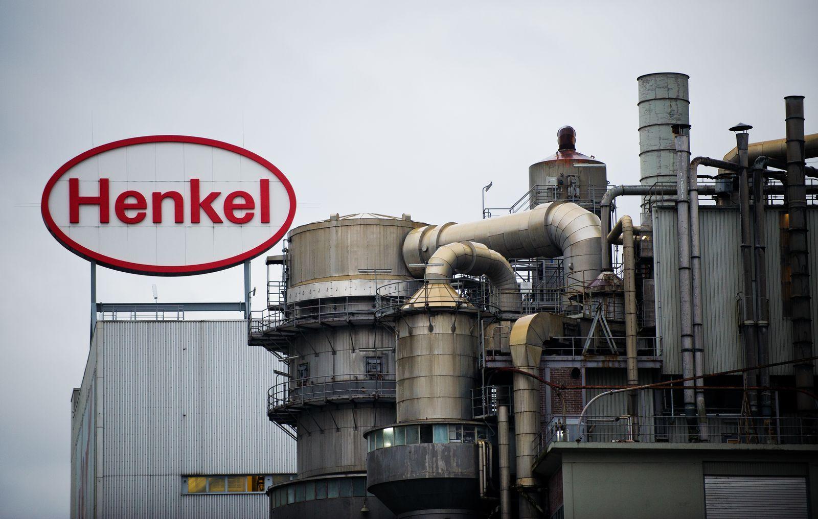 Henkel AG Logo; Produktionsanlage
