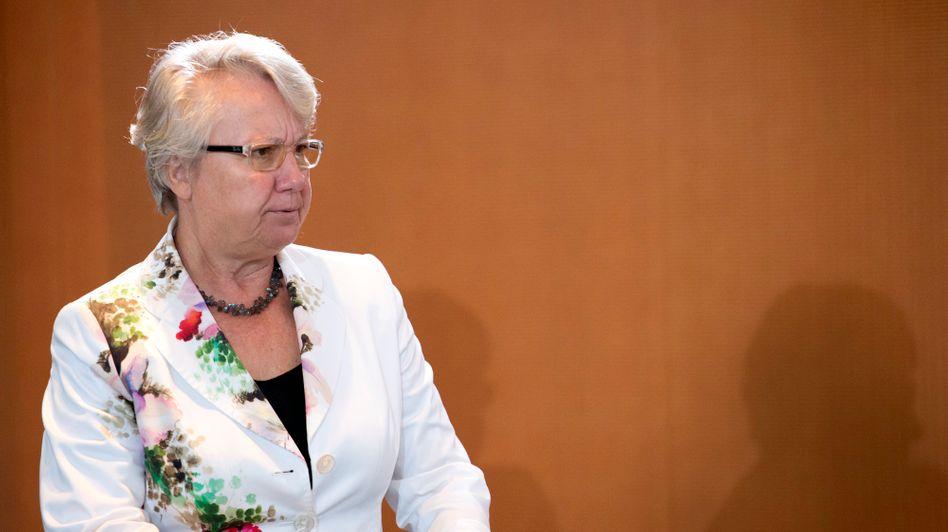 Ministerin Schavan: Schämte sich nicht nur heimlich