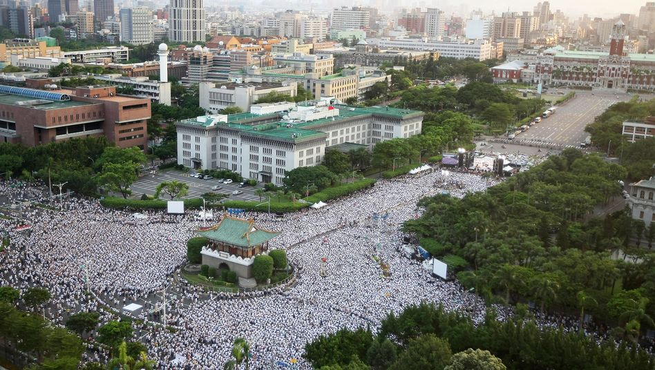 Taiwans Hauptstadt Taipeh: Geld vom Geheimdienst für Sozialhilfeempfänger