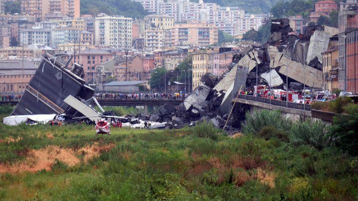 Weltweit: Schwere Brückenunglücke in den vergangenen 20 Jahren