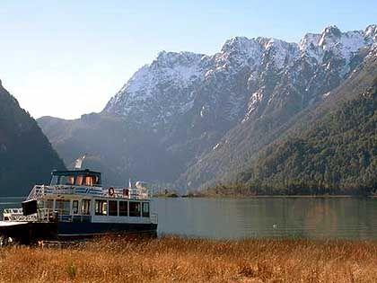 """Am """"Lago Frias"""": Die Landschaft ähnelt den Alpen"""