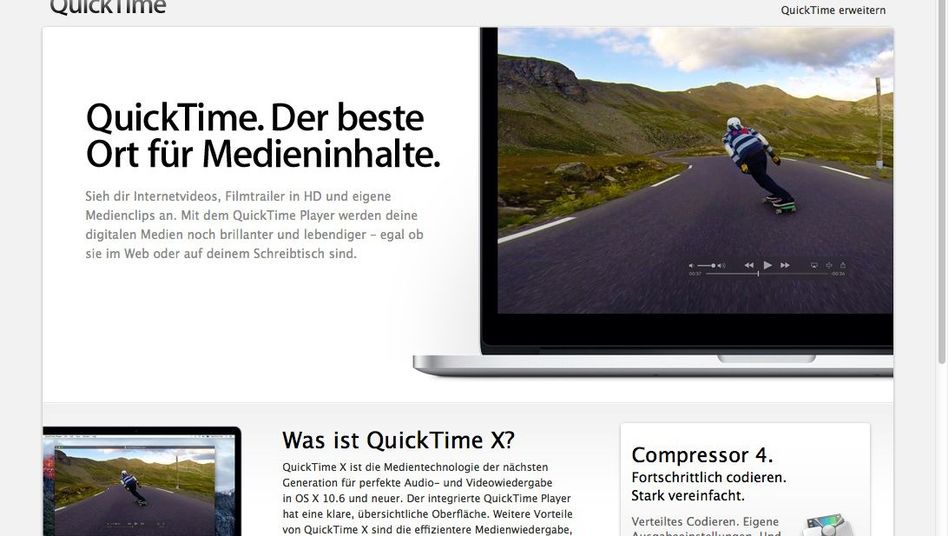 Multimedia-Software QuickTime