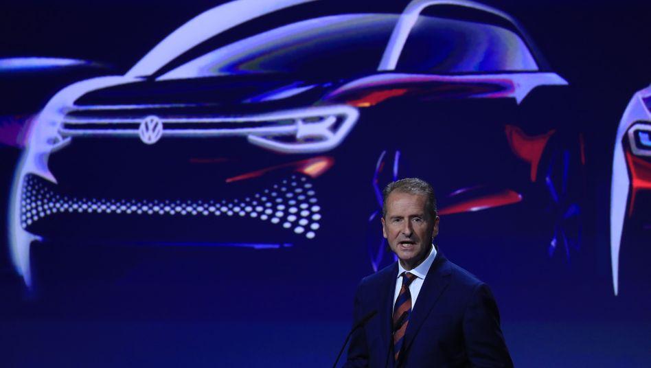 VW-Boss Diess:Den Konzern einer Radikalreform unterzogen