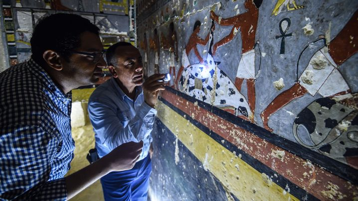 Grab in Ägypten: Kammer der bunten Reliefs