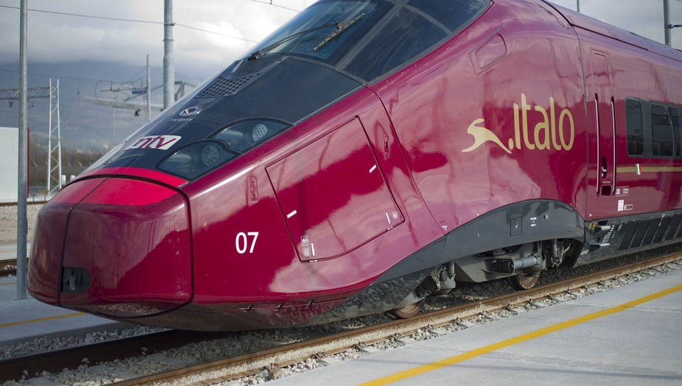 Photo Gallery: A Ride on Italy's High-Tech Italo