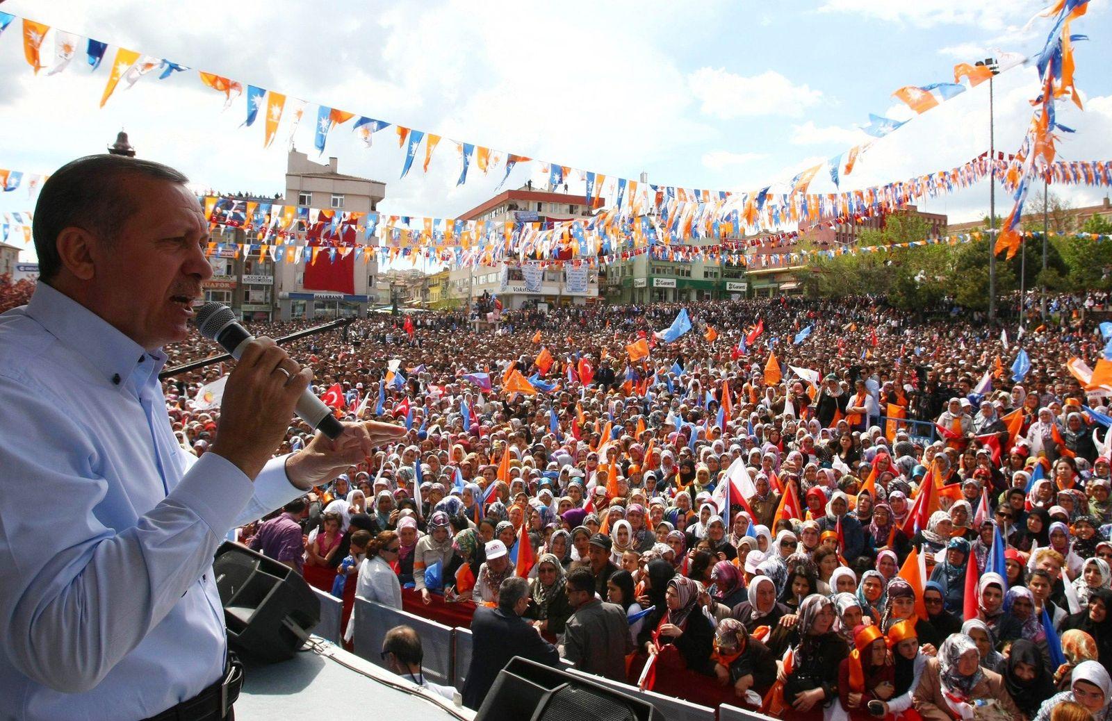 Erdogan / Wahlkampf