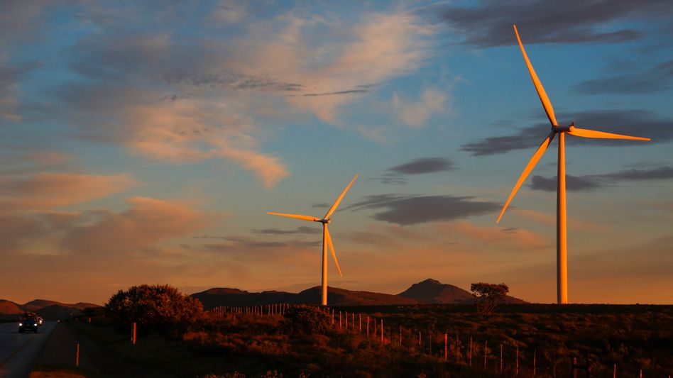 Windpark in Südafrika
