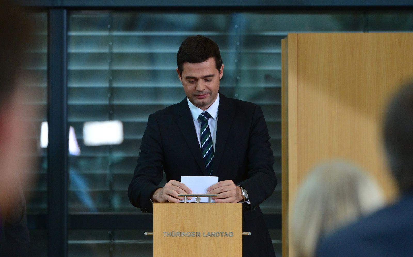 Wahl Ministerpräsident in Thüringen Mohring