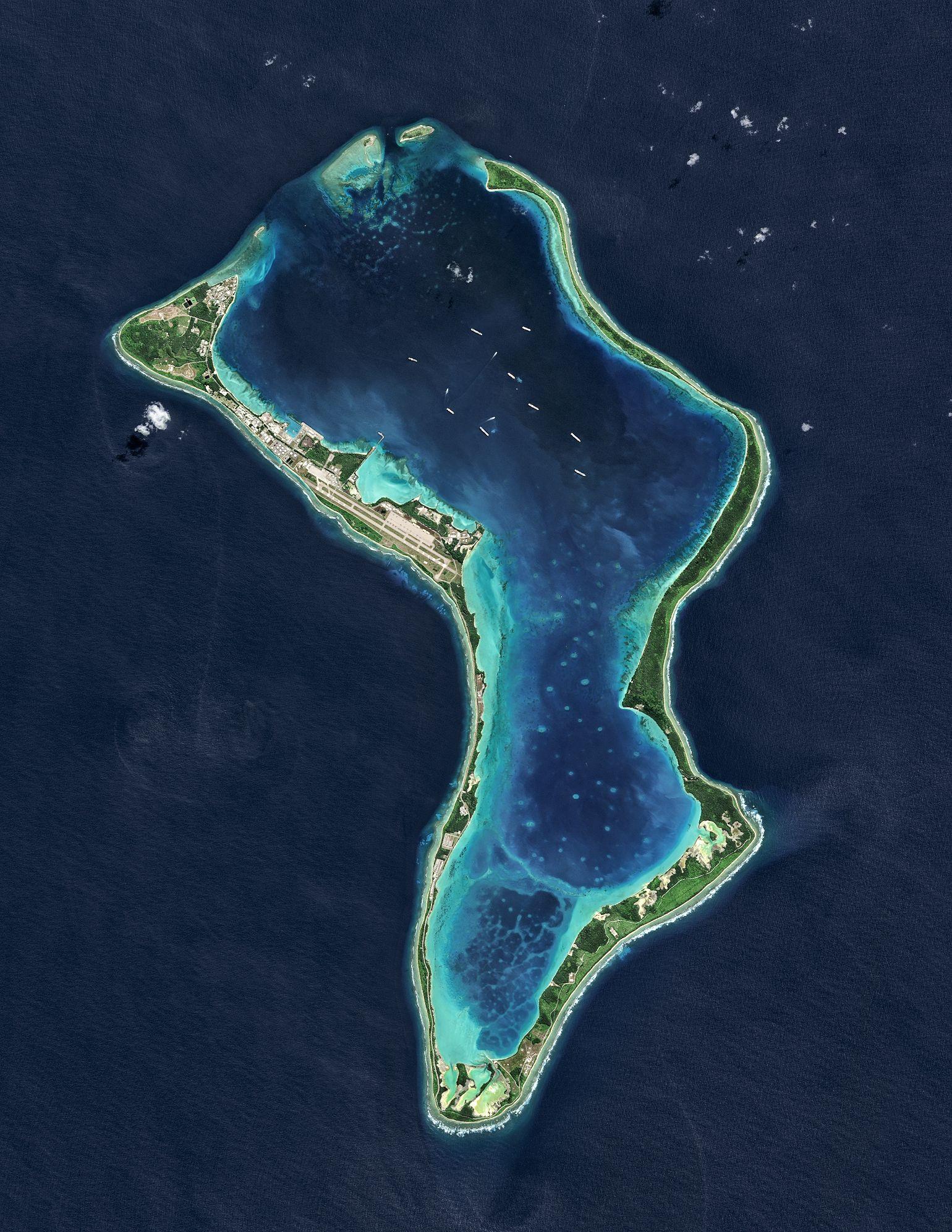 EINMALIGE VERWENDUNG Chagos