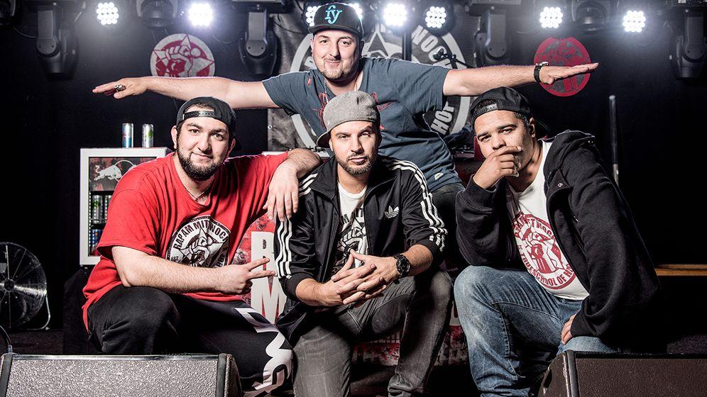 """""""Rap am Mittwoch"""" in Berlin: Peace, Alta"""