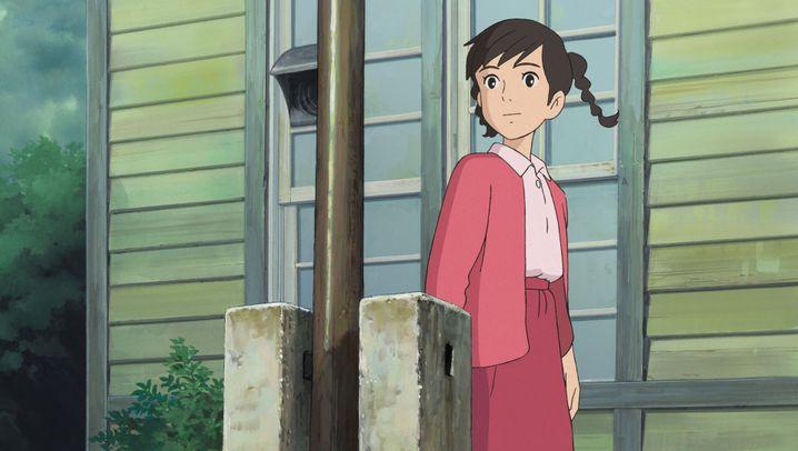"""Animationsfilm """"Der Mohnblumenberg"""": Das japanische Klassenzimmer"""