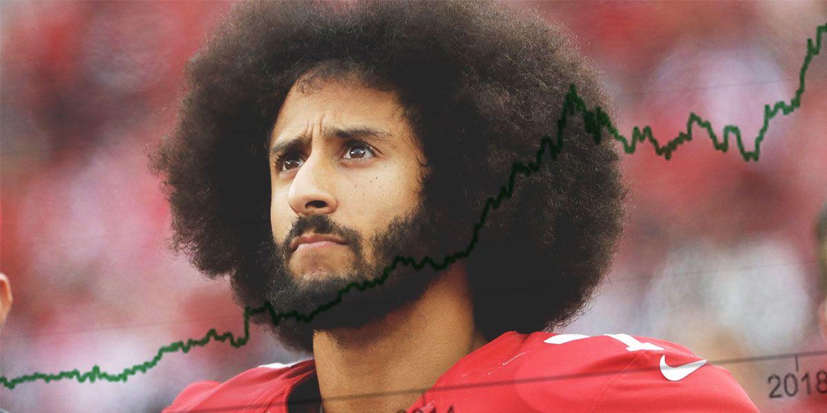 Colin Kaepernick und Nike-Aktie
