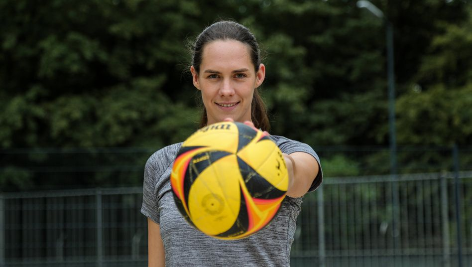 Kira Walkenhorst gewann 2016 zusammen mit Laura Ludwig Olympiagold