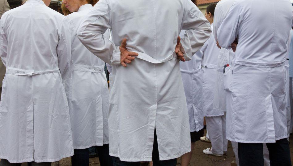 Ärzte in weißen Kitteln: Globale Gesundheitsprobleme wurden auf dem World Health Summit diskutiert