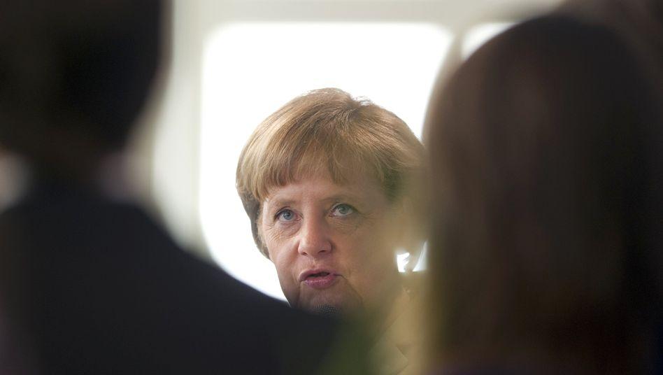 """Merkel: """"Wir dürfen nicht stehen bleiben, weil der eine oder andere nicht mitgehen will"""""""