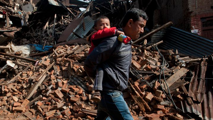 Erdbeben in Nepal: Das Leid der Opfer
