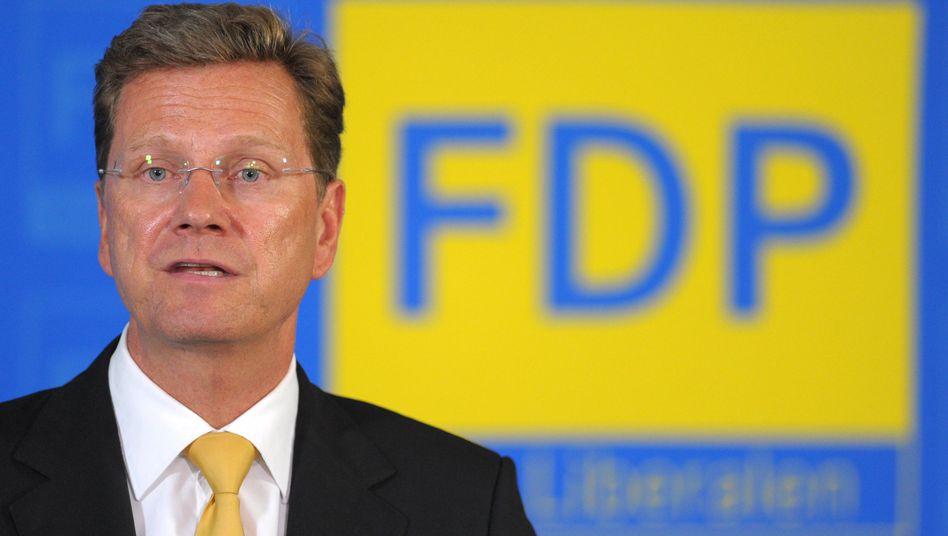 """FDP-Chef Westerwelle: """"Es ist auch an uns, in der ganzen FDP, diese Erfolge zu vermitteln"""""""