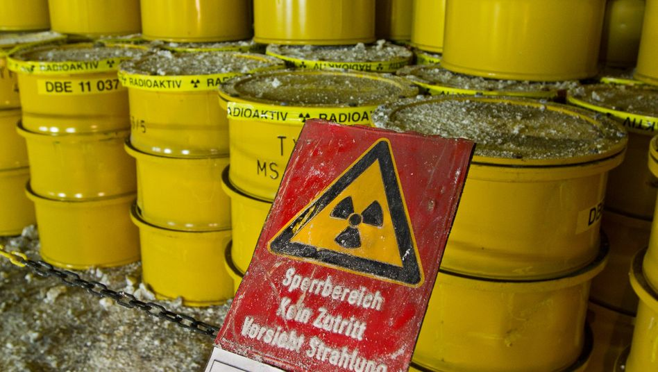 Atommüllfässer im Endlager Morsleben (Archivbild)