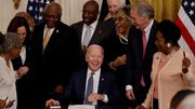 Ende der Sklaverei ist nun offizieller US-Feiertag