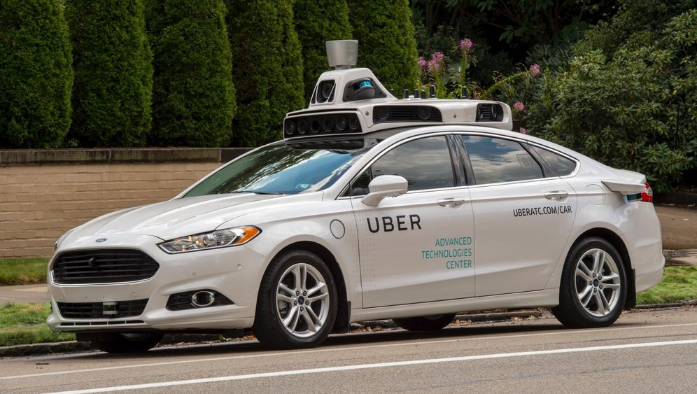 Uber testet autonome Taxis: Fahrerlos durch Pittsburgh