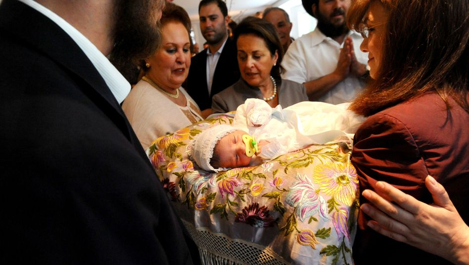 Jüdische Beschneidungszeremonie in San Francisco: Kinder als göttliches Geschenk