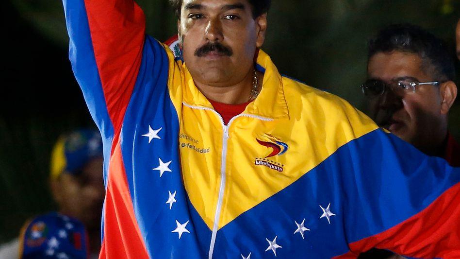 Wahlsieger Maduro: Als Kandidat überfordert - und als Staatschef auch