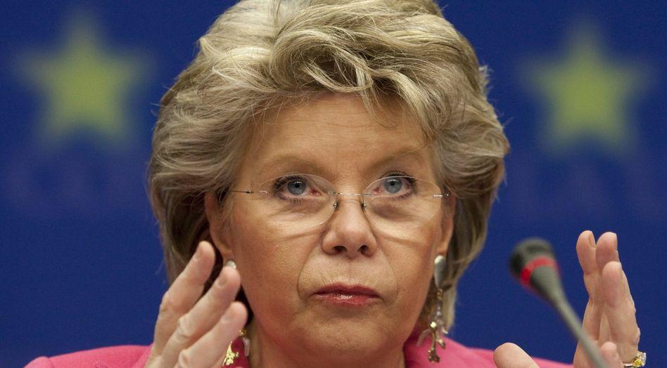 EU-Kommissarin Viviane Reding: Will mehr Schutz für den Bürger