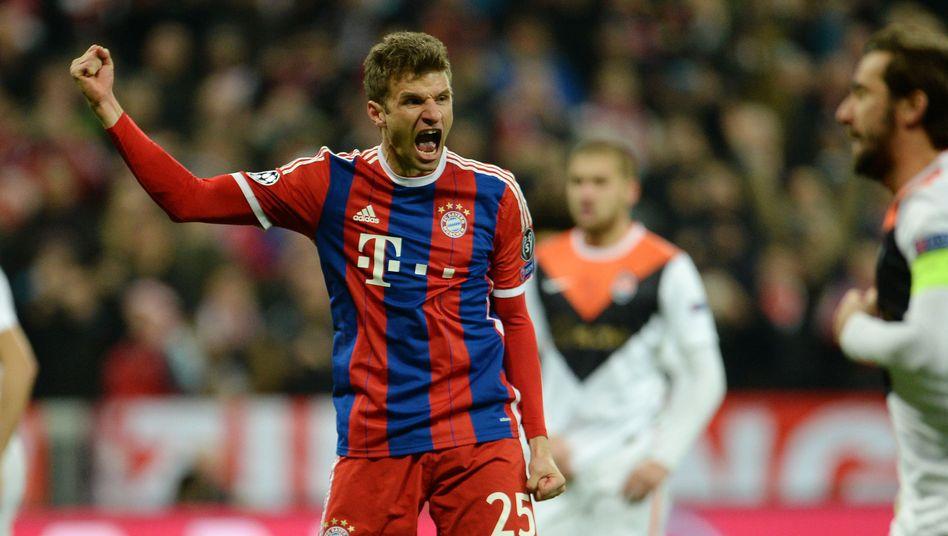 Doppeltorschütze Müller: Der Türöffner fürs Viertelfinale
