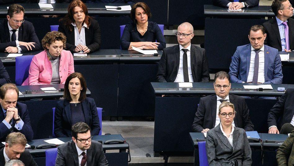 """Abgeordnete von FDP (l.), AfD (r.): """"Wir sind in deren Wohnzimmer eingedrungen"""""""