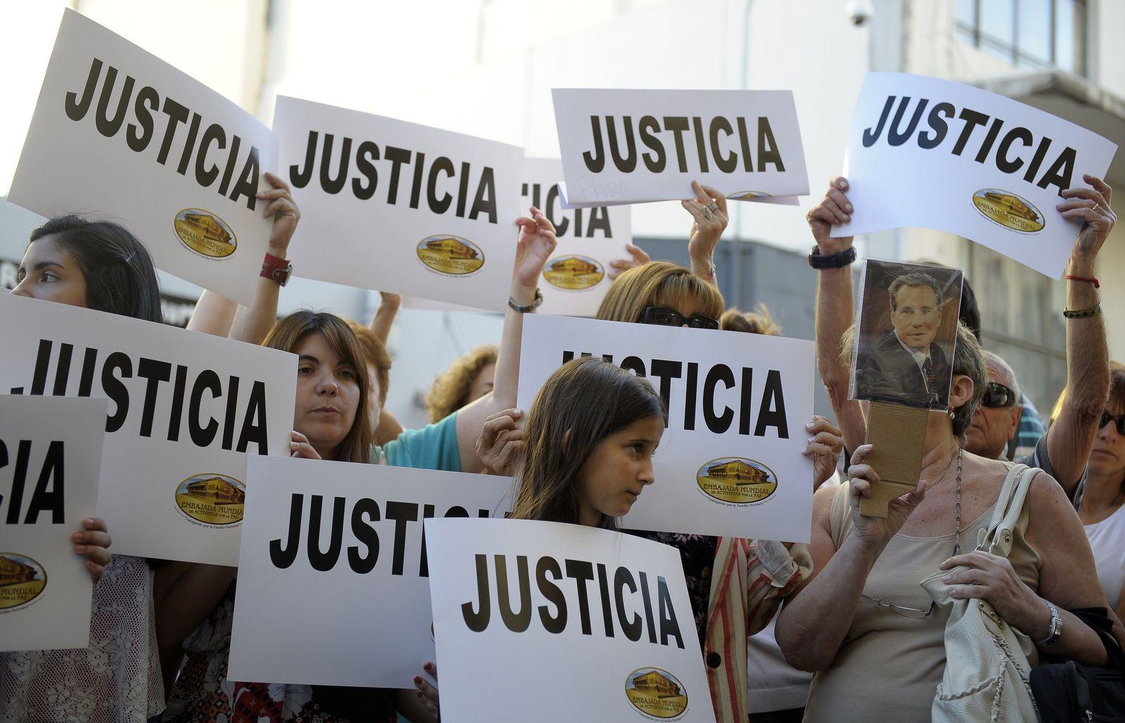 Alberto Nisman/ Gerichtsentscheidung