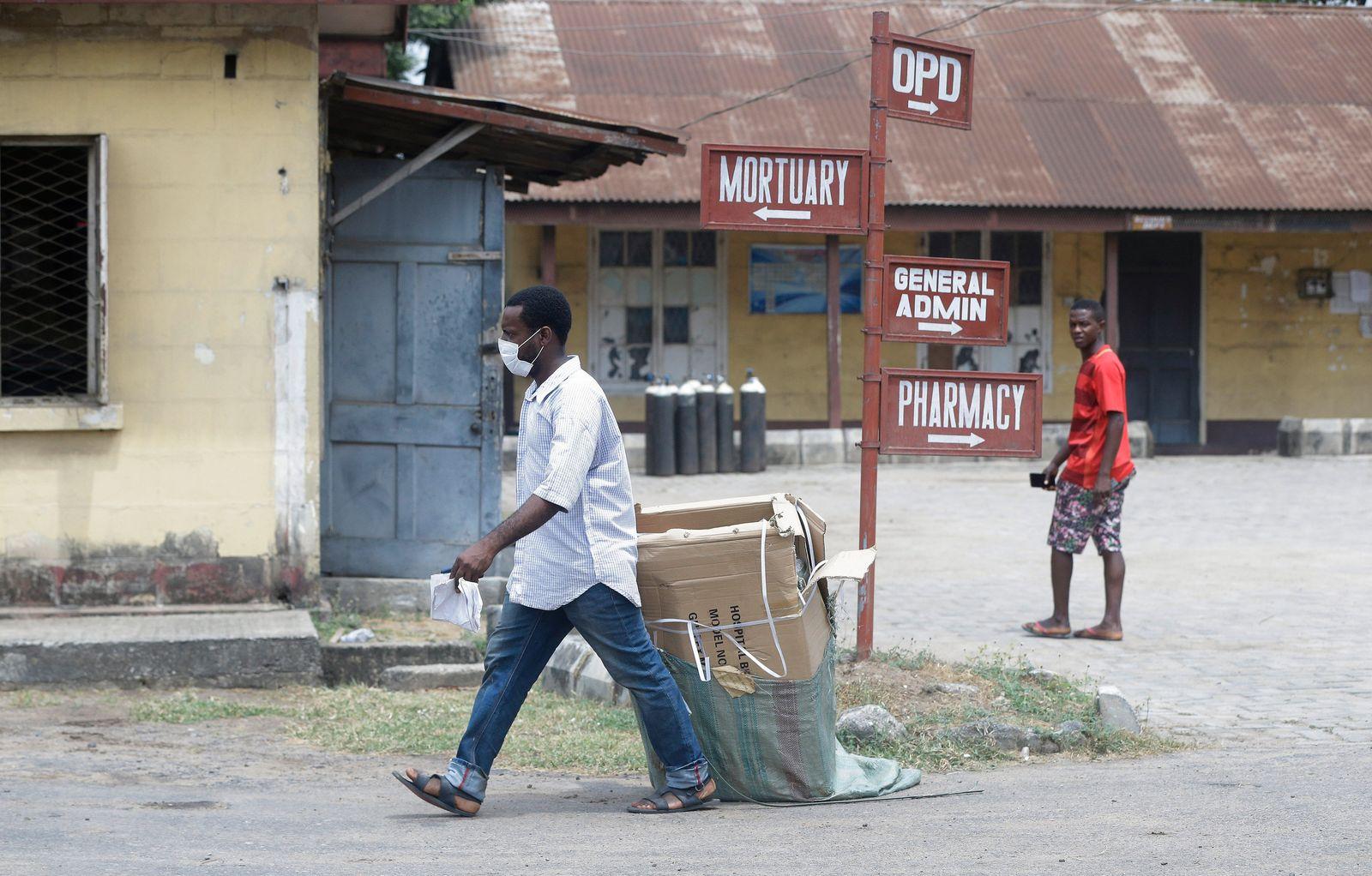 APTOPIX Nigeria Virus Outbreak