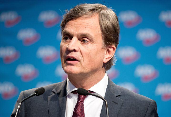 Bernd Baumann, parlamentarischer Geschäftsführer der AfD-Bundestagsfraktion