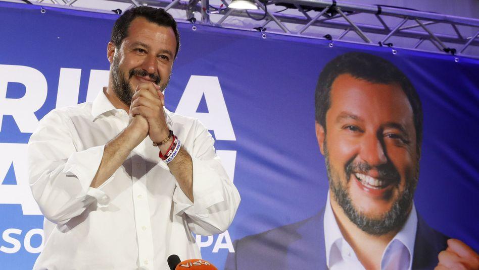 Matteo Salvini, Vorsitzender der Lega