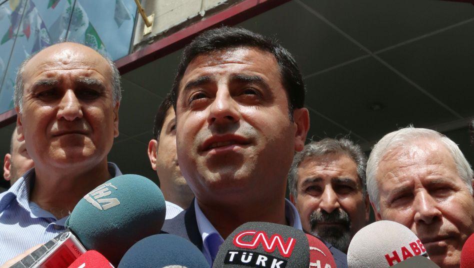 HDP-Parteichef Demirtas: Attacke auf Erdogan