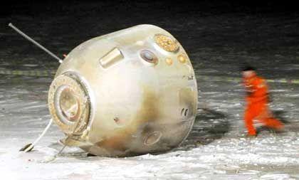 """""""Shenzhou""""-Kapsel nach unbemanntem Test: US-Quellen vermuten Spionagekameras"""