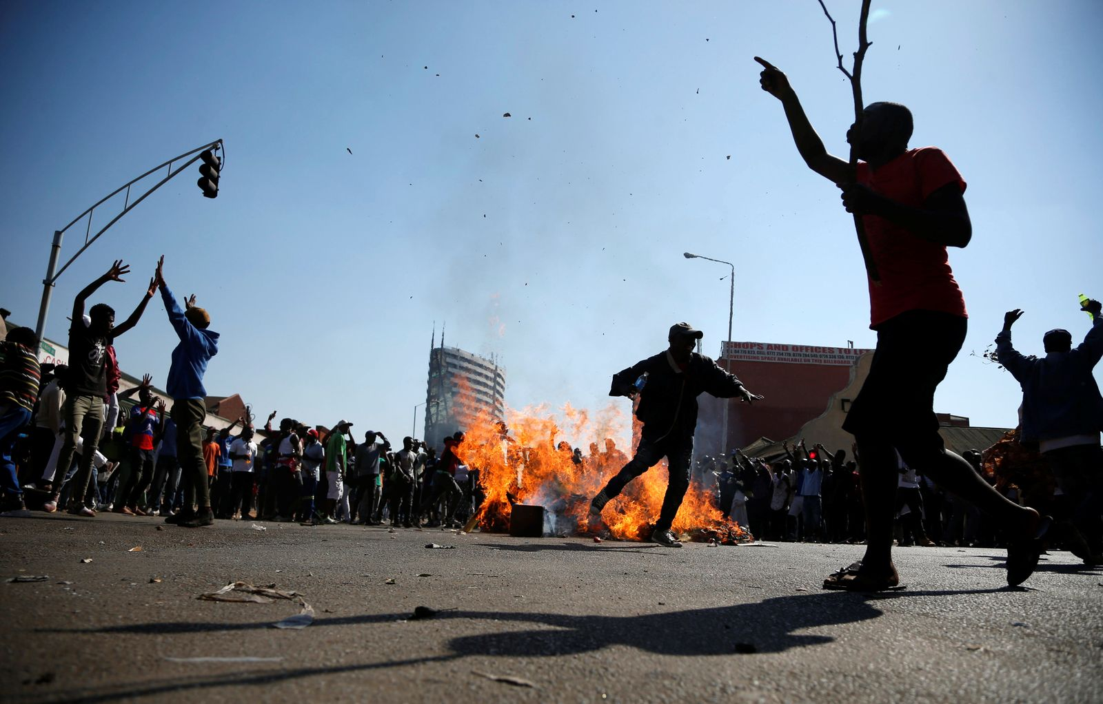 SIMBABWE/ Wahlen/ Demonstration