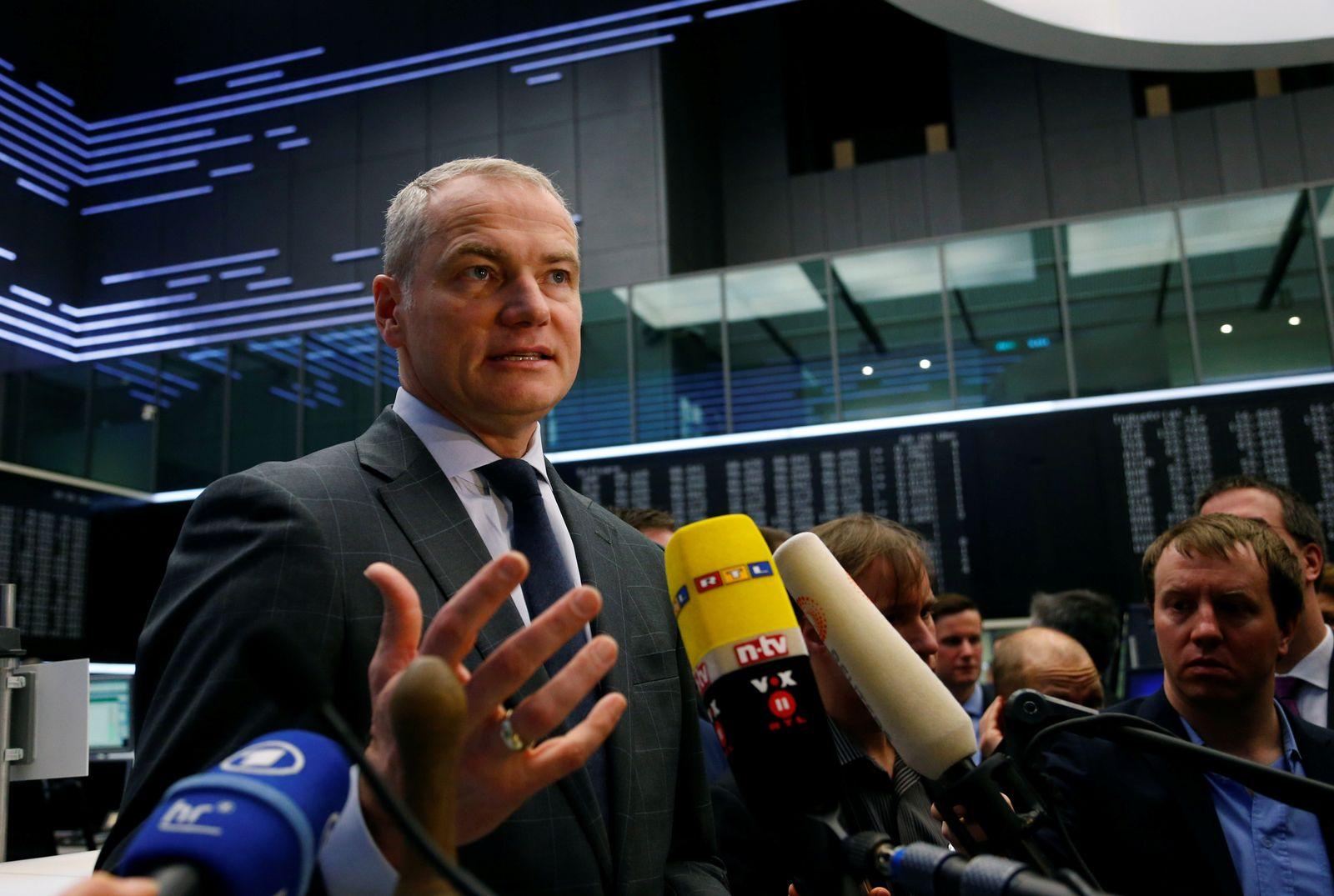 Deutsche Vorstandschefs/ Carsten Kengeter/ Deutsche Börse