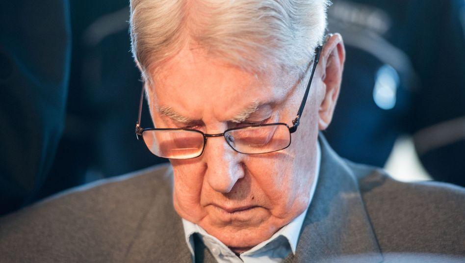 Angeklagte Reinhold Hanning