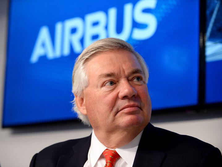 Airbus-Verkaufschef John Leahy
