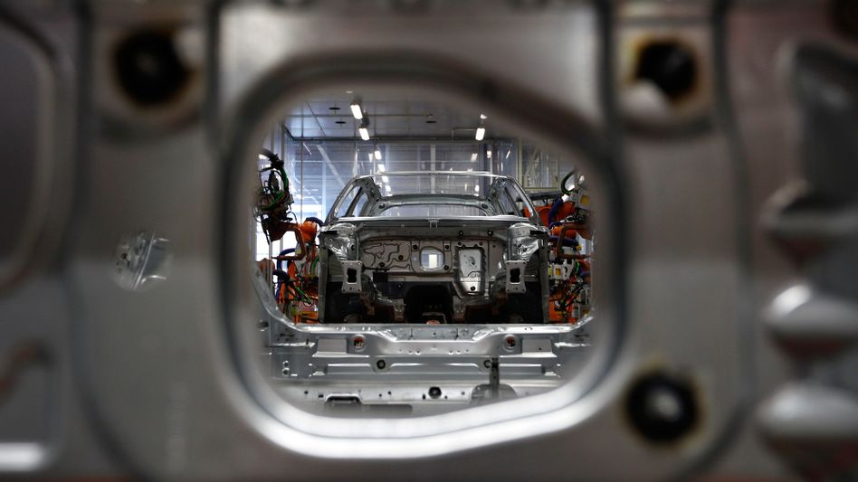 """Fertigung eines Leichtbau-Chassis: """"50 Gramm CO2 pro Kilometer sind drin"""""""