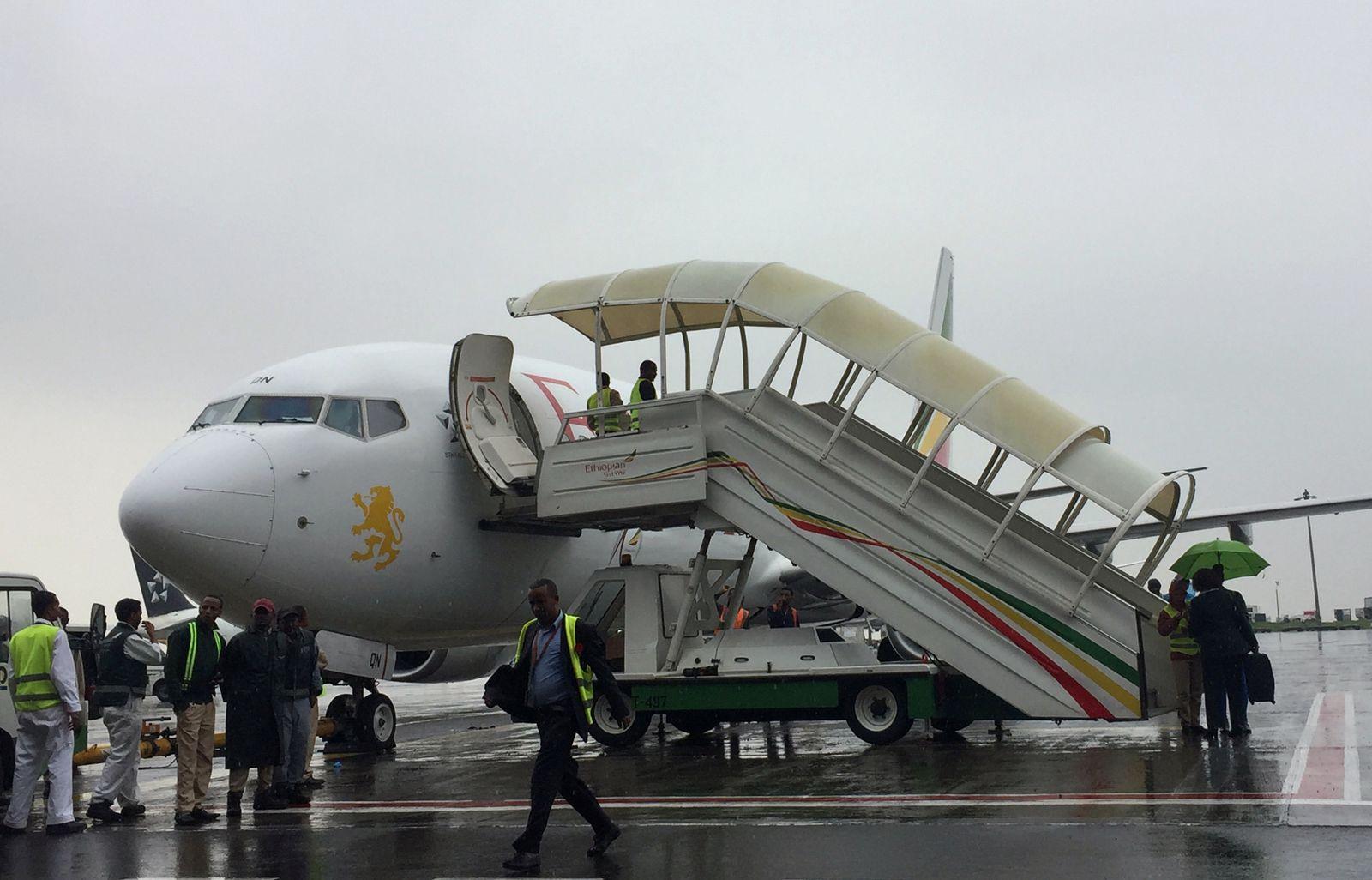 Eritrea Äthiopien Flug