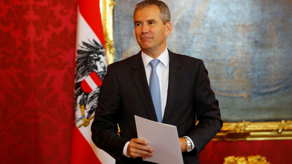 Nach der Amtsenthebung von Sebastian Kurz: Hartwig Löger ist neuer Interimskanzler in Österreich.