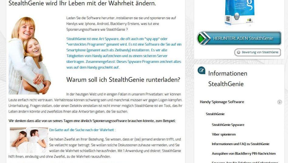 Überwachungs-App StealthGenie: Interessant für gehörnte Partner, Stalker und Kriminelle