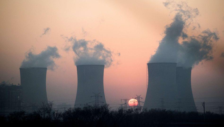 Kraftwerk nahe Hengshui in China: Anzeichen für die Energiewende