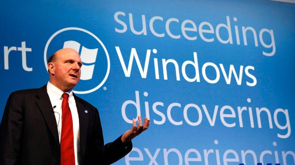 Microsoft-Chef Steve Ballmer: Ärger mit der EU-Kommission